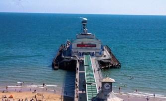 Best Family Friendly Beach - Bournemouth Beach