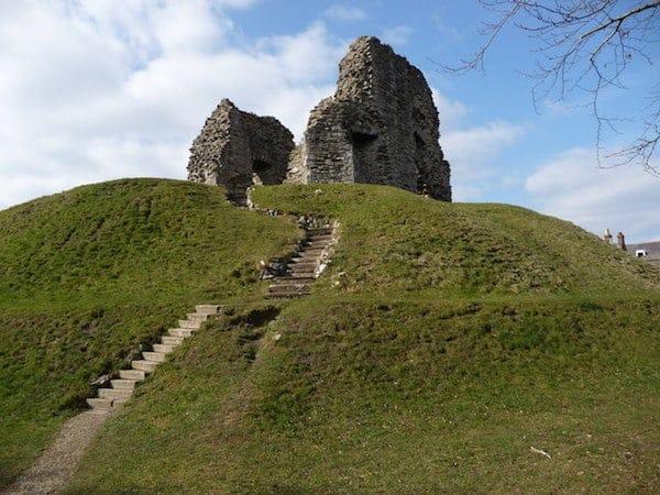 Christchurch Castle Ruins